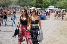 Osheaga 2013: 70 festival style photos of crop tops, tie-dye prints and the best hat ever (YOLO!) | FASHION magazine