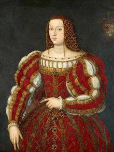 Damenportrait, Englische Schule um 1550 Öl auf Leinwand 110 x 84 cm.