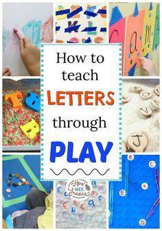 Alphabet activities for preschoolers you NEED!