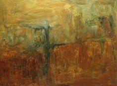 Abstrato - Acrílico sobre tela (espátula). Tamanho 120x90cm. Pintura de Rodrigo Maria
