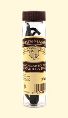 Madagascar Bourbon Vanilla Beans. Each vanilla bean is hand-selected for its freshness and rich fragrance. The bean's sweet, creamy flavor and velvety after-tones work perfectly in any number of cooking and baking applications.
