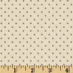 Designed for Riley Blake Designs, this fabric is perfect for quilting, apparel, craft projects and home decor accents.Colors include cream and grey.