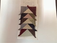 Coser y Coser Patchwork: Tutorial Vuelo de la Oca. Primitive, Triangle, Patches, Quilts, Abstract, Artwork, Support, Blog, Craft