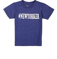 "Little DiLascia ""#NewYorker"" T-Shirt - Tops - Barneys.com"