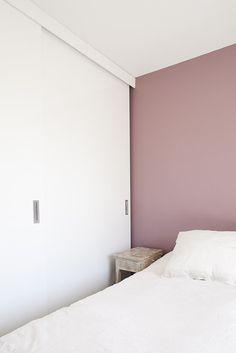 Papier peint intiss alkane blanc d co salon pinterest - Vieux rose peinture ...