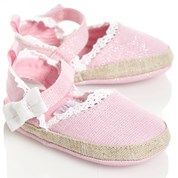 Pink Espadrilles with Bow - Baby