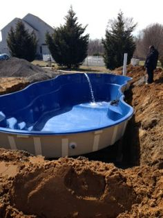 Fiberglass Pool With Tanning Ledge Pool Pinterest