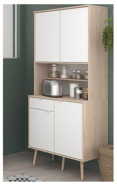 Glass Kitchen Cabinets, Kitchen Interior, Kitchen Storage, Room Decor, Interior Design, Armchairs, Wood, Cube, Organization