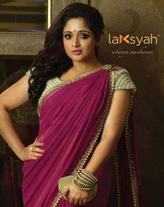 Kavya Madhavan in Saree- Beautiful Images Ever! Beautiful Girl Indian, Most Beautiful Indian Actress, Beautiful Saree, Beautiful Gorgeous, Beautiful Ladies, Beautiful Images, Beautiful People, Kerala Saree, Indian Sarees