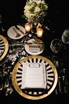 Glamorous Pittsburg Wedding Inspired by the Jazz Age - MODwedding photo: Joey Kennedy