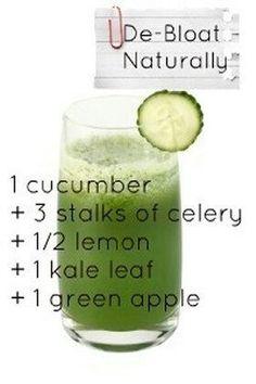 Debloat with this juice