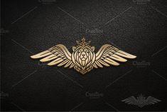 Winged Lion by herulogo on Lion Head Logo, Lion Logo, Leo Tattoos, Sleeve Tattoos, Bodybuilding Logo, Aviation Logo, Lion Design, Wings Logo, Christian Symbols
