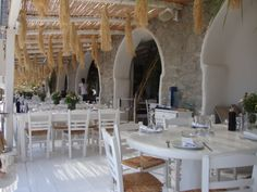 Nammos Beach Restaurant, Mykonos, Greece