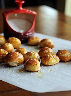 Homemade Pretzel Bites.