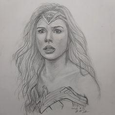 #원더우먼 #원더우먼드로잉 #히어로 My Drawings, Wonder Woman, Female, Women, Art, Art Background, Women's, Kunst, Wonder Women