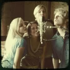 delta rae!!! Ian, Eric and Brittany!!! We just saw them for the first time last night and it was so amazing!!! Love you guys!!!