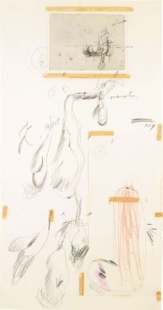 Cy Twombly: Untitled Drawing (1968) via Sotheby's