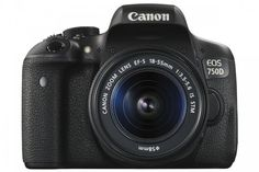Canon EOS 750D (T6i) DSLR Camera with 18-55mm Lens
