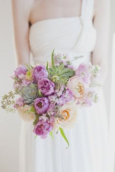 bouquet full of pretty pastels   Photography by http://vickystarz.com, Floral and Event Design by http://sweetwoodruff.ca