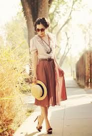 Discover this look wearing Vintage Dresses, Miu Miu Pumps tagged bolly, lesego - Difference by HallieDaily styled for Vintage, Brunch in the Summer Vintage Dresses, Vintage Outfits, Vintage Clothing, Dress Skirt, Midi Skirt, Image Fashion, Online Clothing Boutiques, Modest Fashion, Style Inspiration