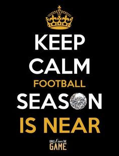 We're heading into the final countdown….who's ready for football? The NFL Draft Day is being held in NYC, . Stay connected with us as we kick off the 2014 season with the top NFL Draft Picks and what's happening now in the NFL. Keep Calm Football, Football Love, Saints Football, Steelers Football, Football Baby, Football Season, Football Shirts, Football Memes, Denver Broncos