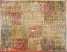 Paul Klee - Cathedral, 1924