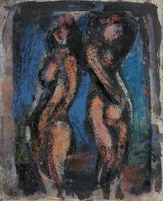Georges Rouault, Nus décoratifs (Caryatides), 1929