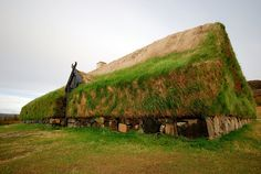 Vikings: Þjóðveldisbærinn in Iceland, a reconstruction of the #Viking #Longhouse Stöng. Photo by Thomas Ormston.