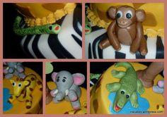Zoo In A Cake  Ina Cakes cakepins.com