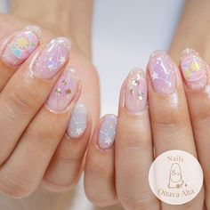 カラフルな星座ネイル  #ignails #nail #nails #nailart #nailaddict #naildesign #nailswag…