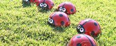Comment fabriquer des coccinelle  à partir de boules de bowling! trucs-et-bricolages