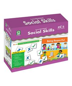 This Social Skills File Folder Game is perfect! #zulilyfinds