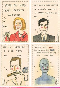 Arrested Development Valentine's Day Cards
