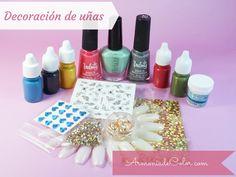 Materiales para nail art