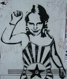 riot grrrl street art | Flickr