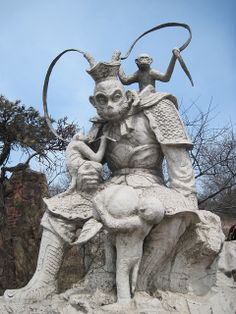 monkey king Sun Wukong by Irina Bogodukhova