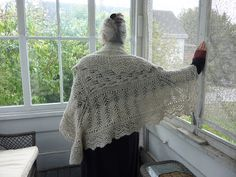 Ravelry: My Ancestress Hap Lace Shawl pattern by Martha Marques