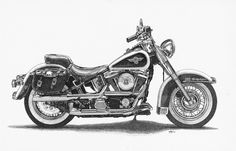 Harley Heritage Softail by ajgrier<br />