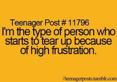 oh my gosh i'm not the only one! every day i almost do and u have noo idea how many times i hold it in! and my brother bugs me about it and he doesnt know how bad my stress issues are!