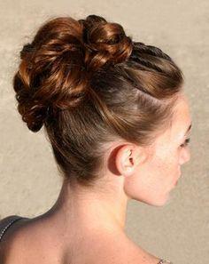 Super 1000 Images About Gymnastics Hair On Pinterest Gymnastics Short Hairstyles Gunalazisus