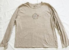 Life Is Good Womens XL Light Brown Fall Leaves Relaxed Fit Long Sleeve Shirt #lifeisgood #womenlongsleevetshirt #relaxedfit #fallleaves #fashion #style #Nintendo3dsXL #vintage #shopping #clothing #ebayseller #abestbra  #paypal #toys #ebaystore #electronics #handbags #collectibles #dress #accessories #pokemon #dojo #mens #shoes #shop #selling