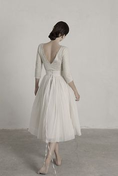 This Ballerina-Style Lace-Up Pair | 36 Ultra-Glamorous Two-Piece Wedding Dresses