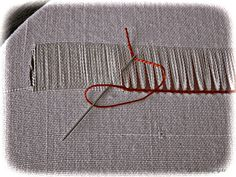 Retro Embroidery Ideas Deshilado paso a paso Embroidery Needles, Learn Embroidery, Hand Embroidery Stitches, Beaded Embroidery, Embroidery Patterns, Hardanger Embroidery, Vintage Embroidery, Drawn Thread, Beaded Cross Stitch