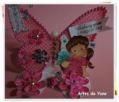 Artes da Yone !: Desafio 09/2014 - Flores e Borboletas / Blog do Ma...