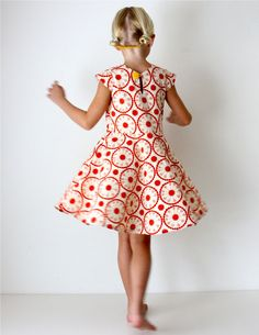 First Day Dress pattern update Sewing Kids Clothes, Sewing For Kids, Diy Clothes, Clothing Patterns, Dress Patterns, Day Dresses, Girls Dresses, Winter Dresses, Prom Dresses