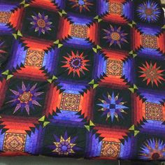 Finished Top of Solstice Quilt from Jinny Beyer Kaleidoscope Quilt, Paper Piecing, Quilting Projects, Quilt Blocks, Quilts, Blanket, Crochet, Top, Paper Scraps