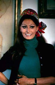 Sophia Loren, 1969.