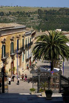 Piazza del Duomo, Ragusa-Ilba, Sicily, Italy