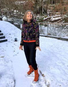 Ellen's Sewing Passion: Winter Jacket ⛄ Large Buttons, Wool Fabric, Winter Jackets, Passion, Plaid, Suits, Sewing, Pattern, Sleeves
