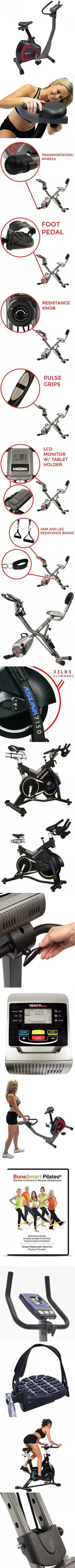 Health Gear UB500 Programmable Magnetic Resistance Health Club Style Exercise Bike